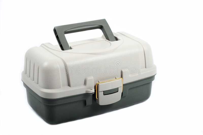 Download Tackle Box stock photo. Image of tackle, white, tool, tools - 4815360