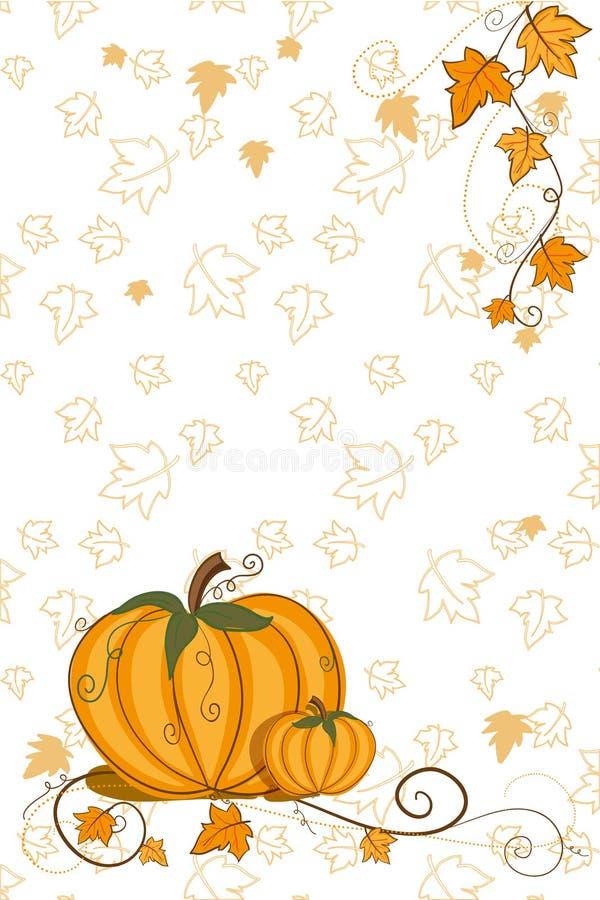 tacksägelse för korthälsningspumpa royaltyfri illustrationer