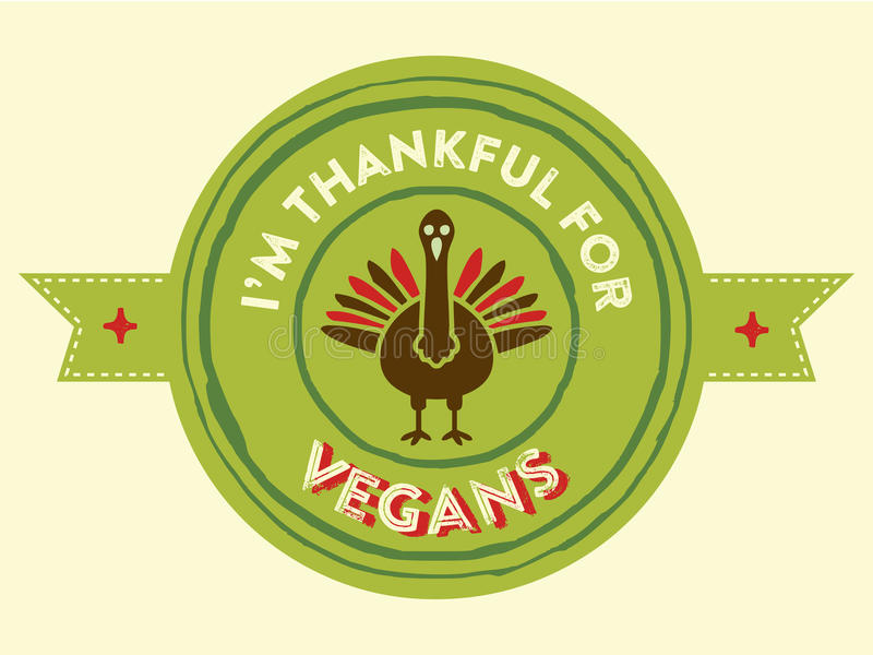 Tacksägelsestrikt vegetarianemblem