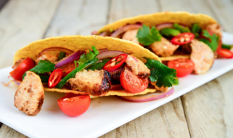 taco royaltyfria bilder