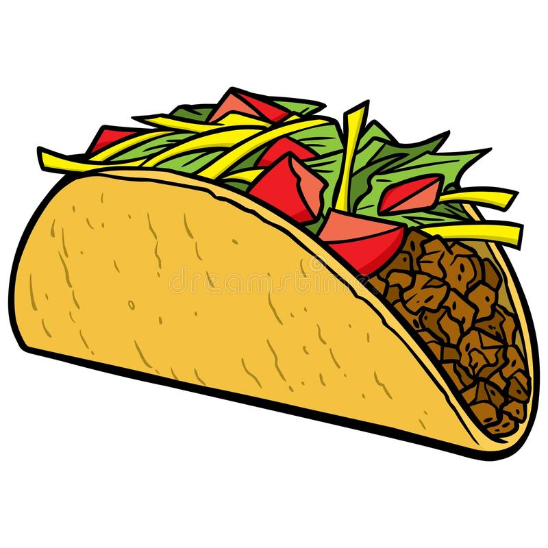 taco libre illustration