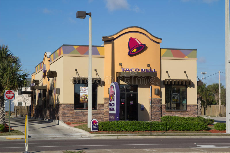 Taco Bell stockfoto