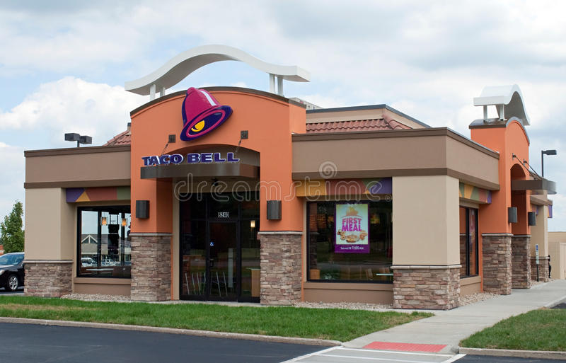 Taco Bell Restaurant royalty free stock photography