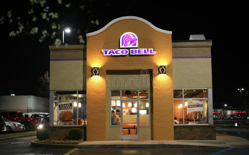 Taco Bell Restaurant royalty free stock photo