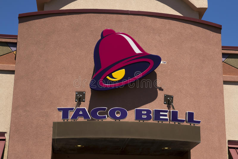Taco Bell-Schnellrestaurant lizenzfreies stockbild