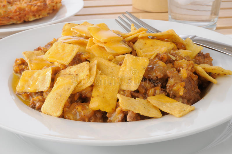 taco caserole стоковое изображение