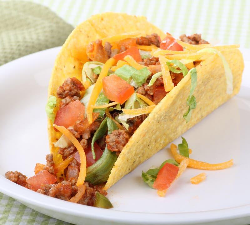 Taco Closeup stock photo