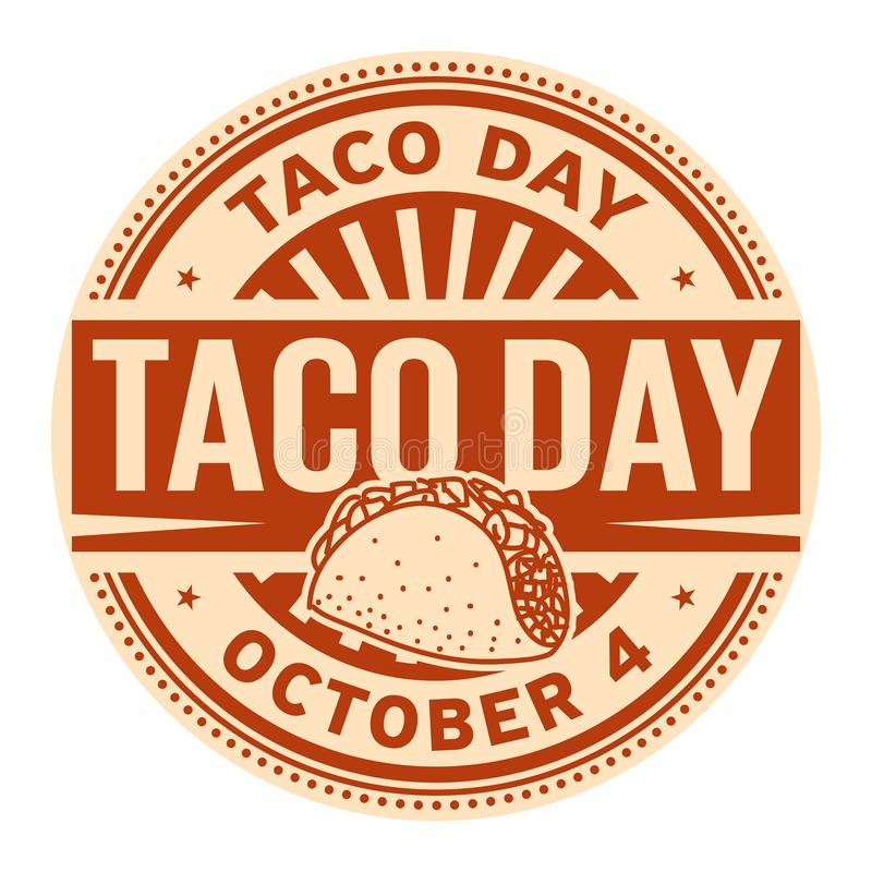 Free Taco Day, October 4 Stock Photography - 126096732