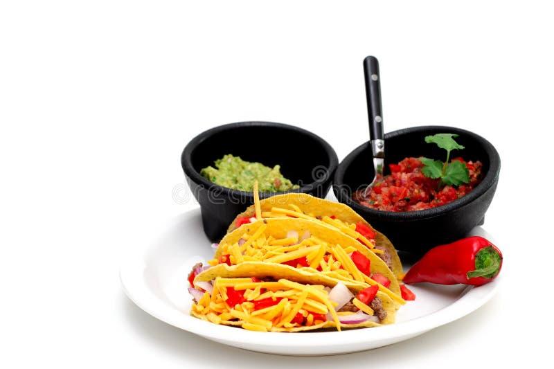 Taco dur d'interpréteur de commandes interactif photos libres de droits