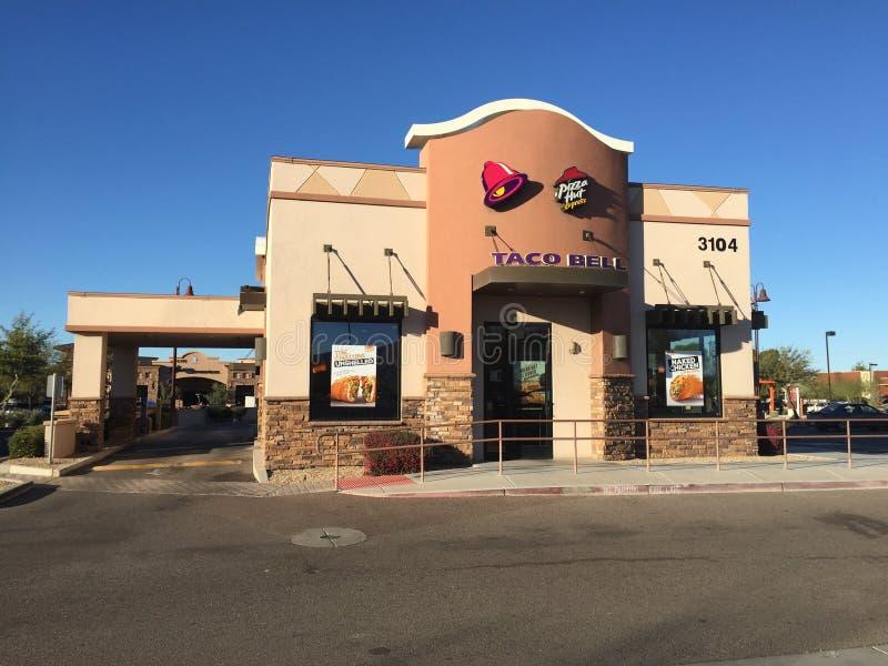 Taco Dzwonów przejażdżka zdjęcia royalty free
