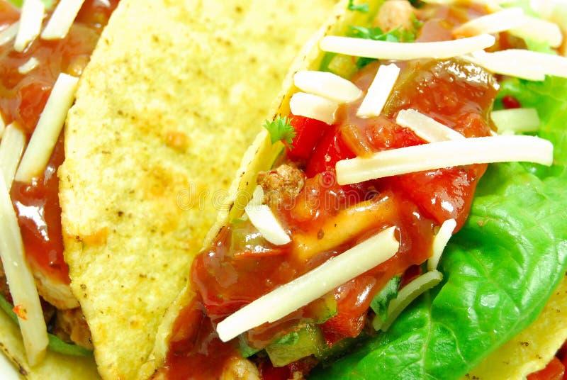 Taco mexicano fotografia de stock royalty free