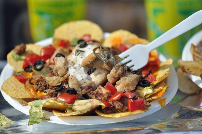 Taco Nacho Salad fotografia stock