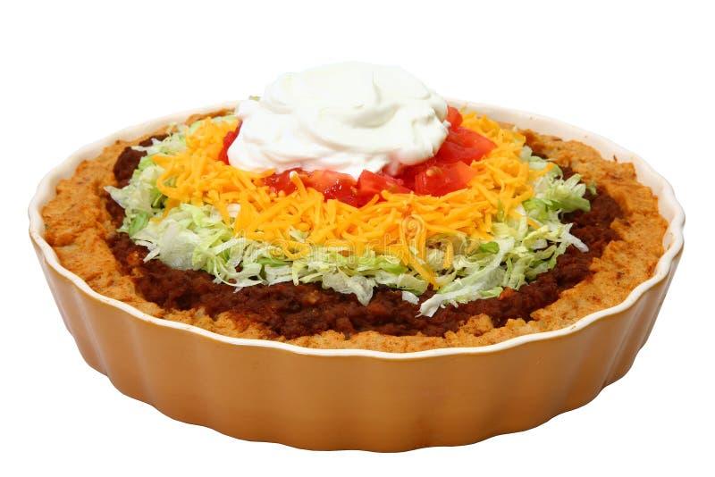 Taco Potatoe Kasserolle lizenzfreie stockfotografie