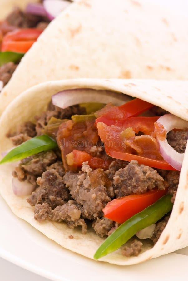 Taco's royalty-vrije stock fotografie