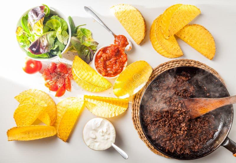 Taco's stock afbeeldingen