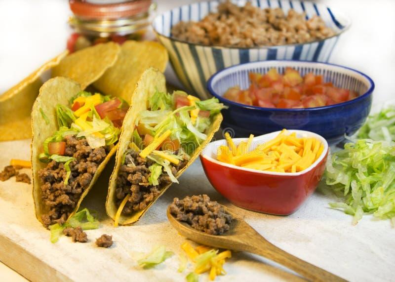 Taco's stock foto