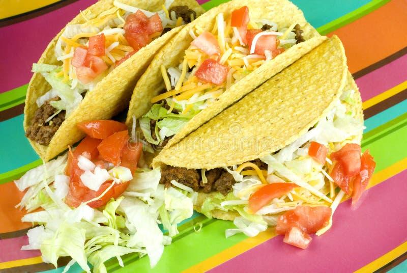 Taco's royalty-vrije stock afbeelding