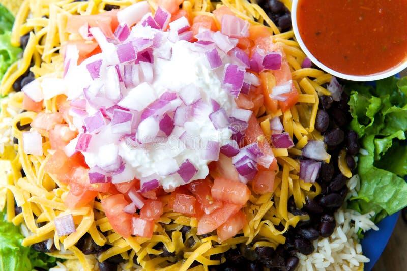 Taco sałatka zdjęcie royalty free