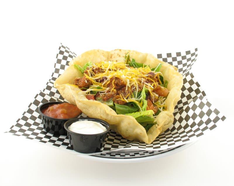 Taco salad royalty free stock photography