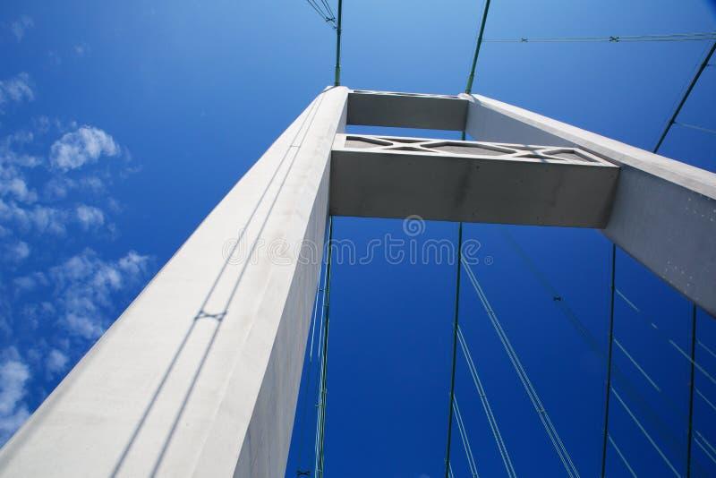Tacoma Bridge Tower royalty free stock image