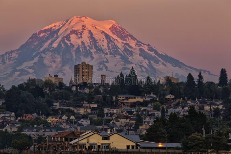 Tacoma en la oscuridad fotos de archivo libres de regalías