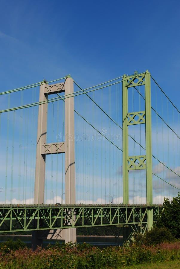 Tacoma-Enge-Brücke stockbild
