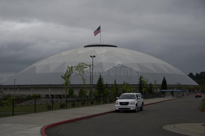 Tacoma-Haube stockfoto
