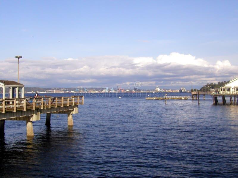 tacoma strand royaltyfria foton