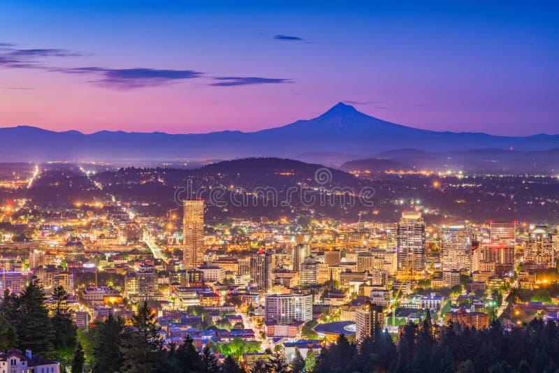 Tacoma, Washington, USA Skyline royalty free stock image