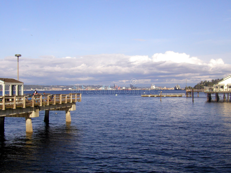 Download Tacoma Waterfront Royalty Free Stock Photos - Image: 10648