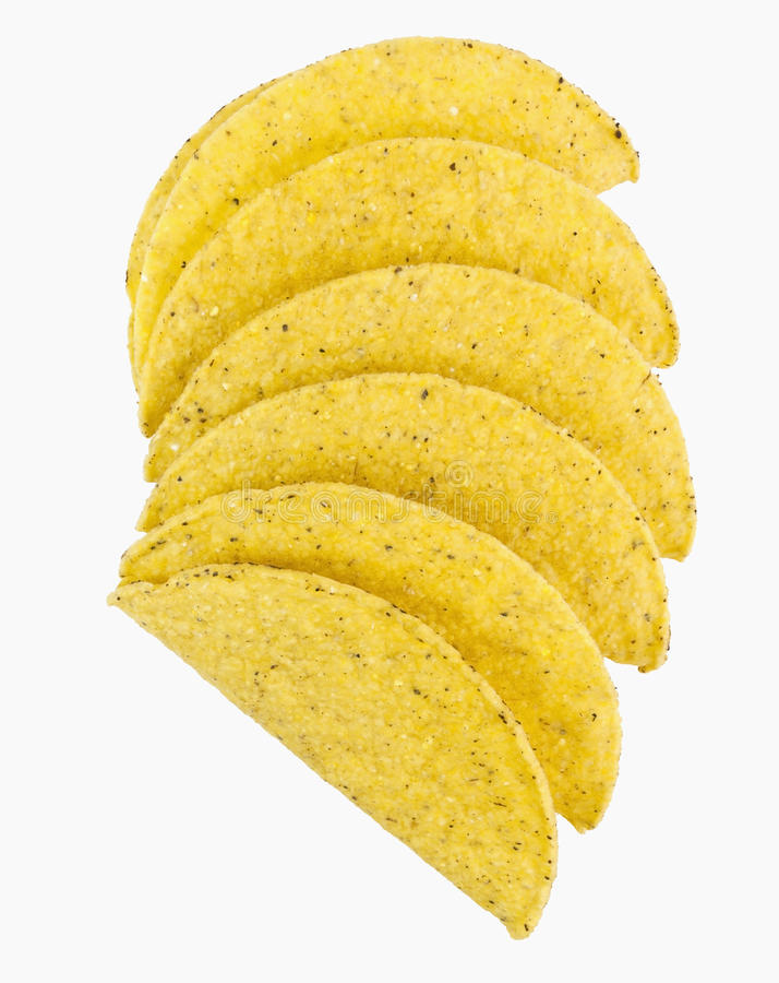 Tacooberteile lizenzfreie stockbilder