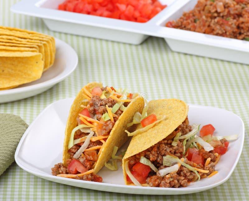 tacos δύο στοκ φωτογραφία