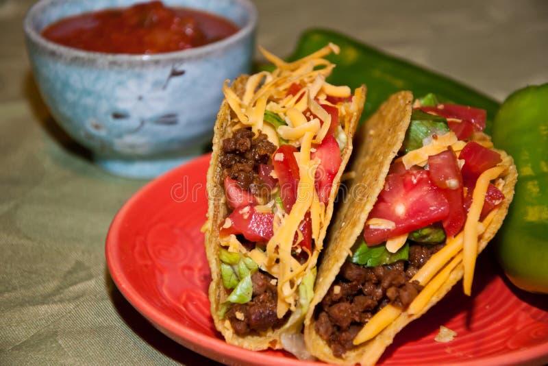 Download Tacos imagen de archivo. Imagen de lechuga, cultural - 42441053