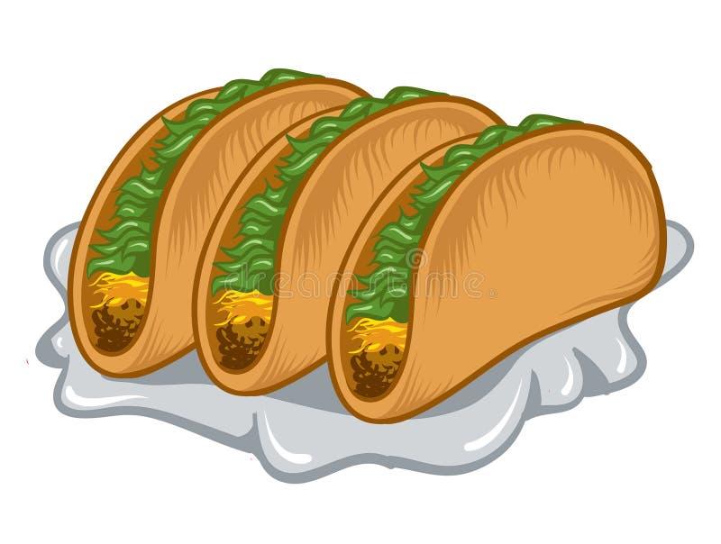 tacos διανυσματική απεικόνιση
