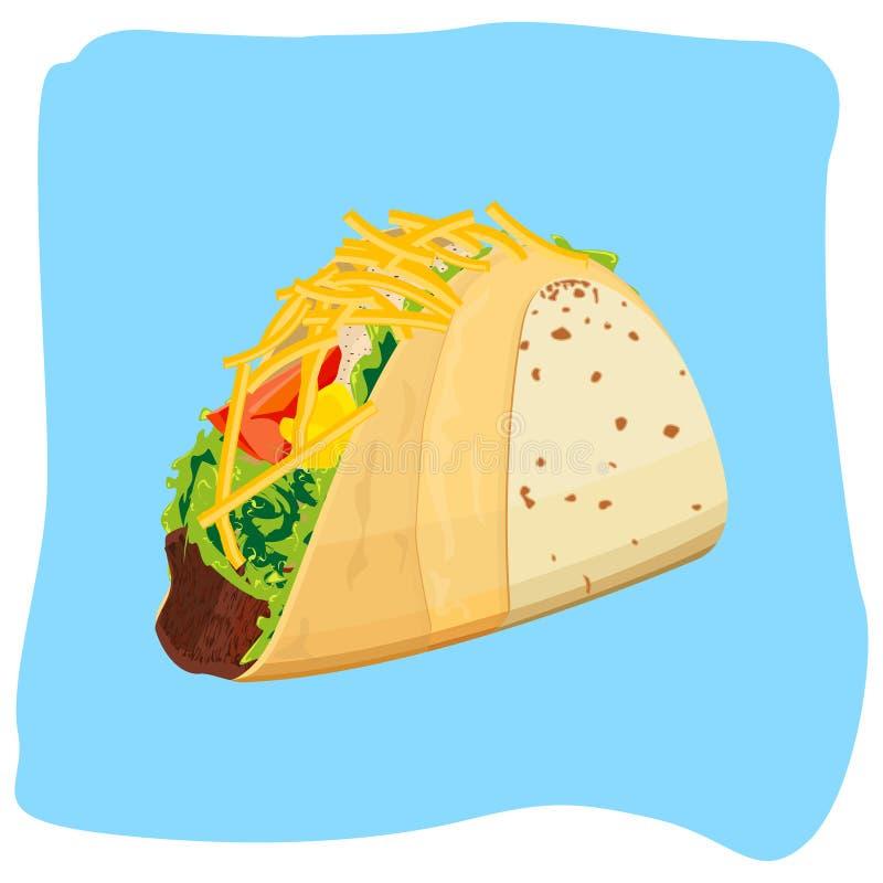 tacos royalty ilustracja