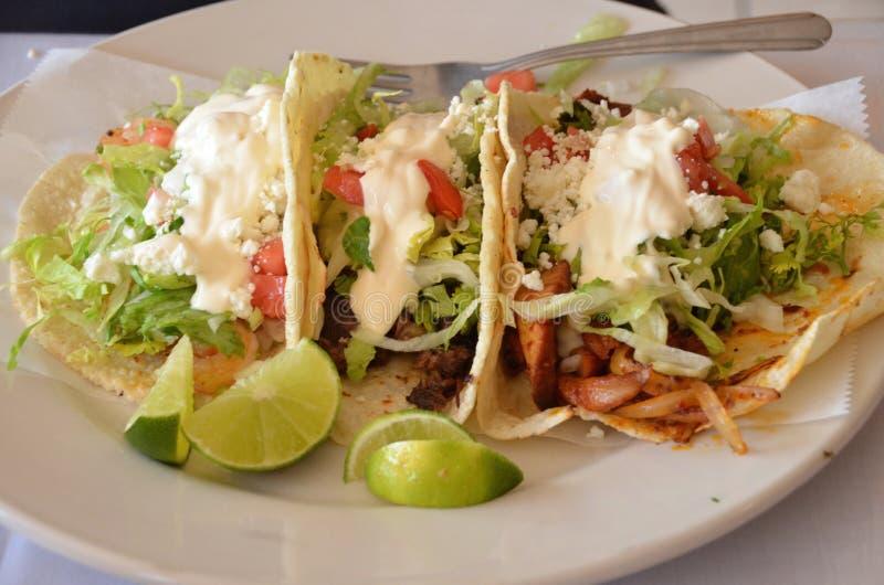 Tacos authentique photo stock