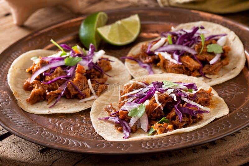 Tacos Carnitas stockbilder