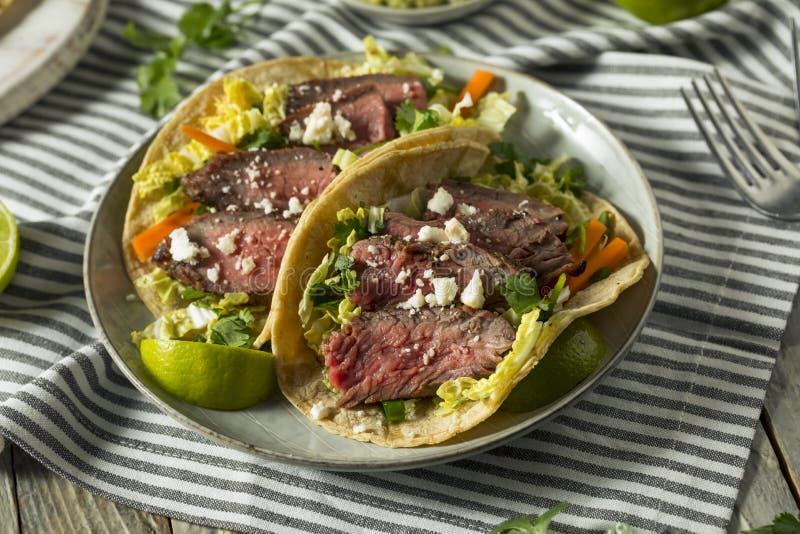 Tacos coréen fait maison de bifteck photo libre de droits