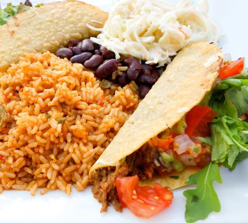 Tacos de boeuf photo stock