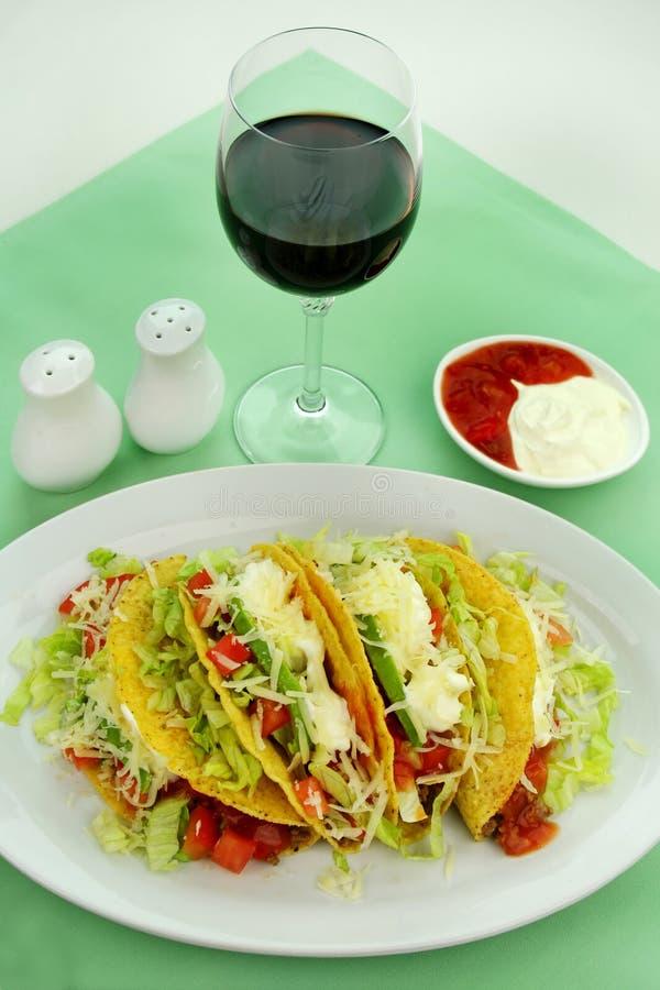 Tacos de boeuf photo libre de droits