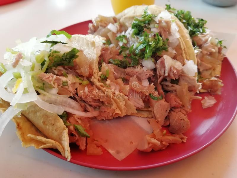 Tacos de carnitas Meat de Tacos photos libres de droits