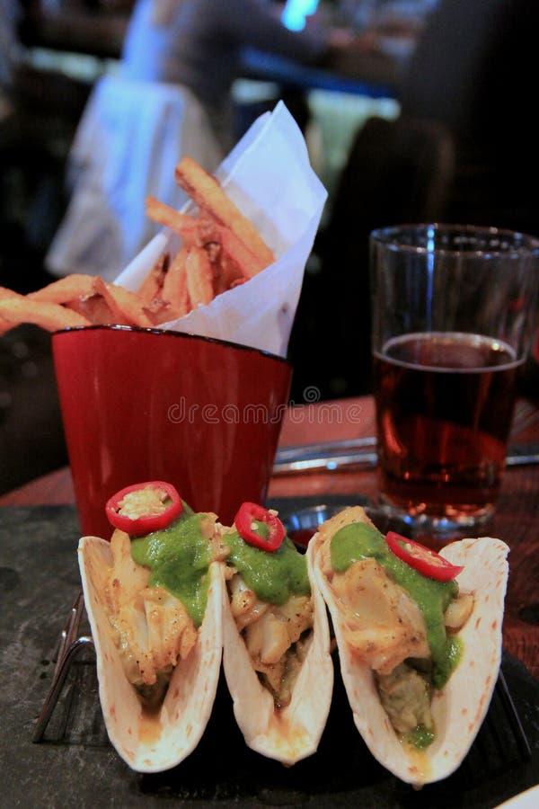 Tacos de poissons photos libres de droits