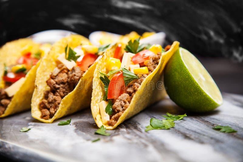 Tacos delicioso imagen de archivo
