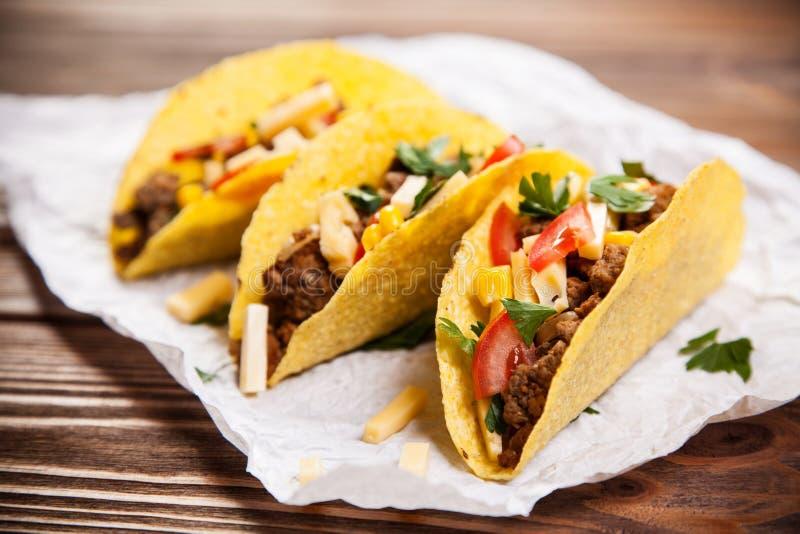 Tacos delicioso imagen de archivo libre de regalías