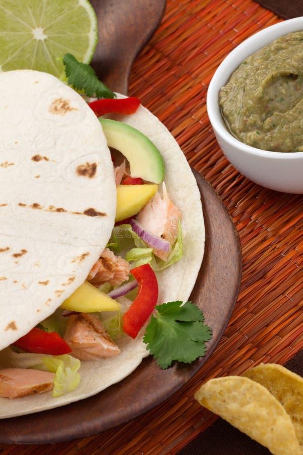 Tacos di pesci immagini stock libere da diritti