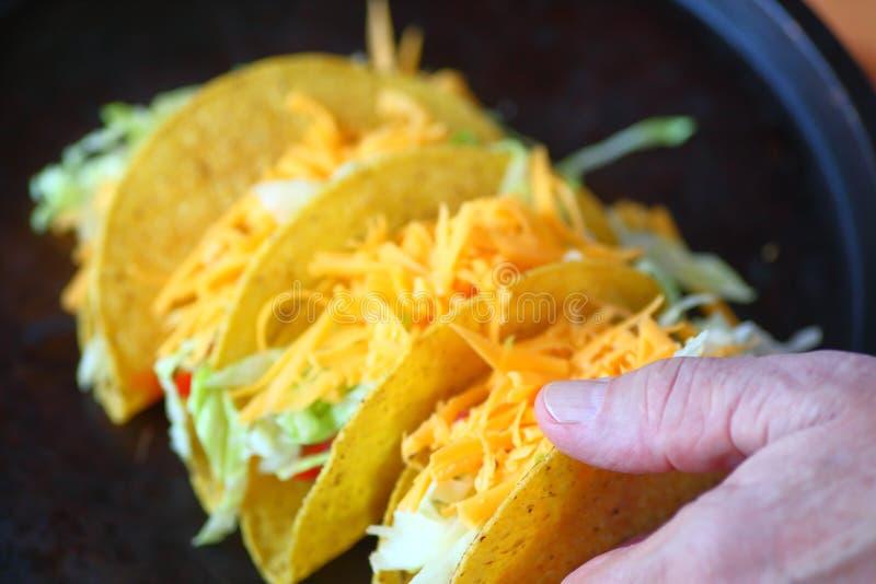 Tacos fait maison photographie stock