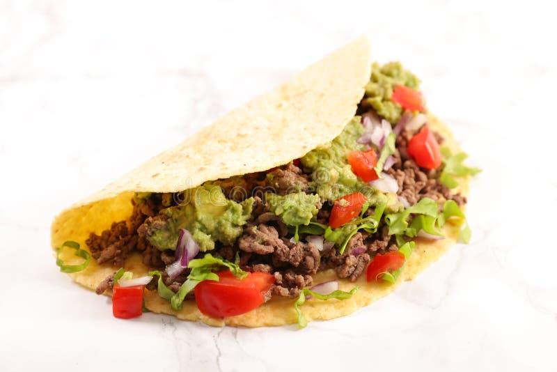 Tacos, fajita foto de archivo libre de regalías