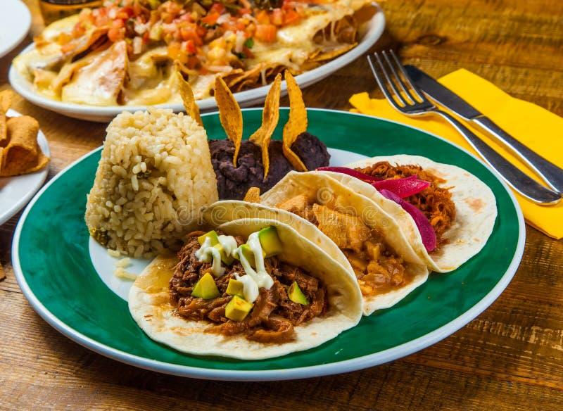 Tacos messicano immagini stock libere da diritti