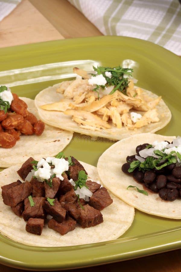 Tacos mexicain photos libres de droits