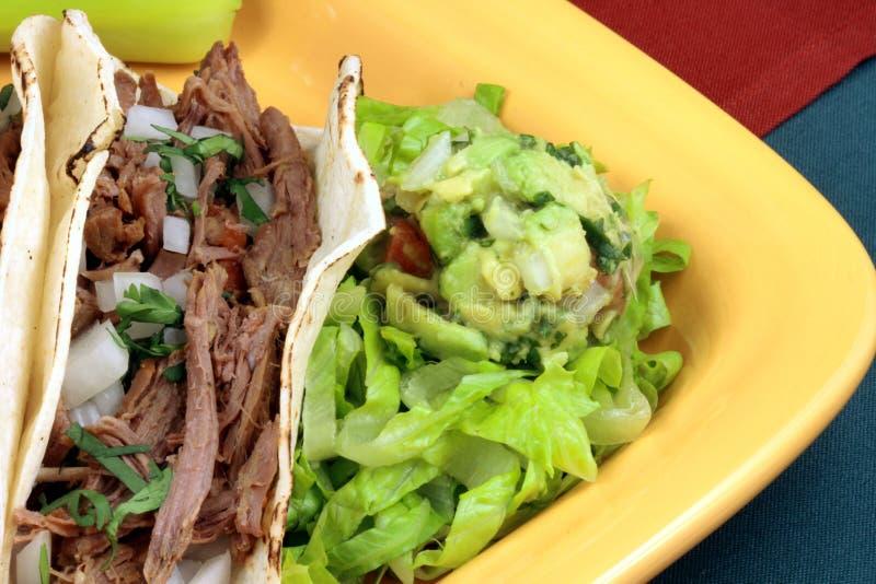 Tacos mexicain images libres de droits